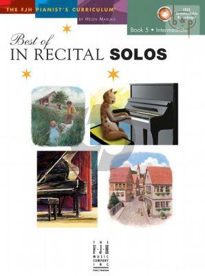 Best of In Recital Solos Vol.5
