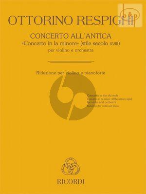 Concerto all'Antica (Concerto a-minor)