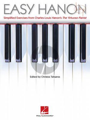 Easy Hanon (simplified studies from Hanon's Virtuoso Pianist
