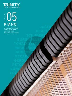 Piano Exam Pieces Plus Exercises 2021-2023: Grade 5