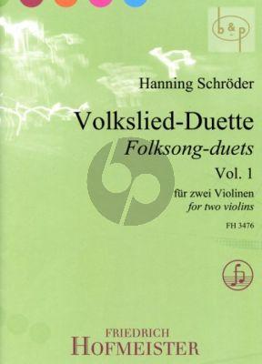 Volkslied Duette Vol.1