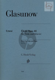 Elegie Op.44 (Viola-Piano)