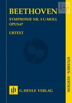 Beethoven Symphony No.5 c-minor Op.67 (Study Score) (edited by Jens Dufner)