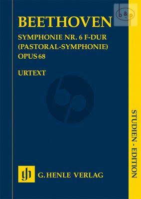 Symphony No.6 F-major Op.68 (Pastoral Symphony) (Study Score)