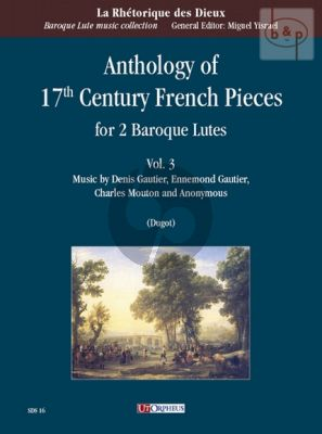 Anthology of 17th. Century French Pieces Vol.3 (2 Baroque Lutes)