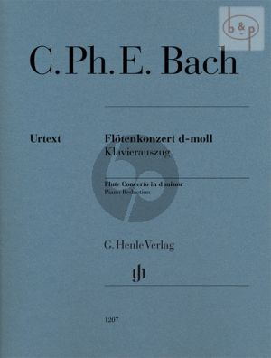 Concerto d-minor H.484.1 (WG 22) (Flute-Orch.) (piano red.)