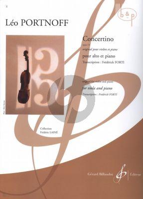 Concertino Op.13 (orig. Violin) (Viola-Piano)