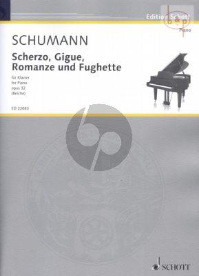 Scherzo-Gigue-Romanze und Fughette Op.32
