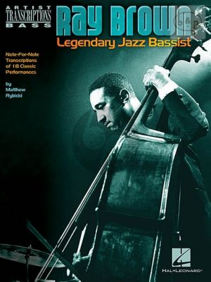 Legendary Jazz Bassist (Note-for-Note Transcriptions of 18 Classic Performances)