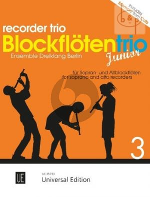 Blockflotentrio Junior Vol.3 (Descant- and Treble Recorders)
