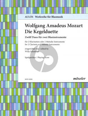 Mozart Kegelduette KV 487