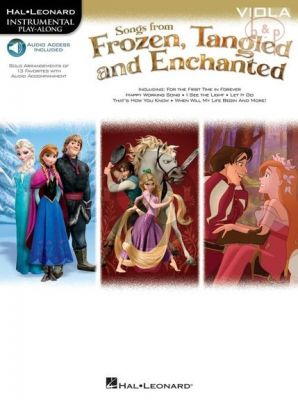 Songs from Frozen-Tangled and Enchanted Viola