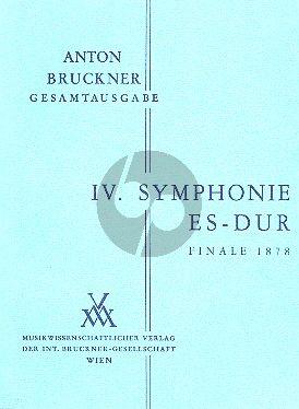 Symphonie No.4 Es-dur Finale 1878