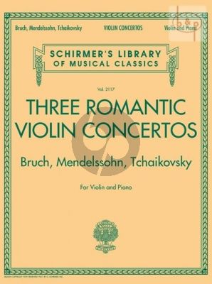 3 Romantic Violin Concertos