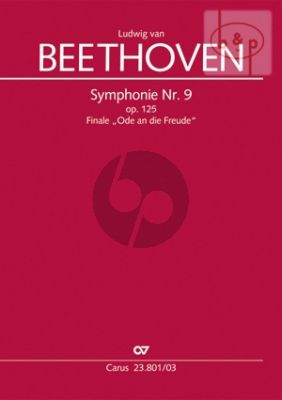 Beethoven Symphony No.9 (Finale) Ode an die Freude (Soli-Choir-Orch.) (Vocal Score) (edited by Stefan Schuck)