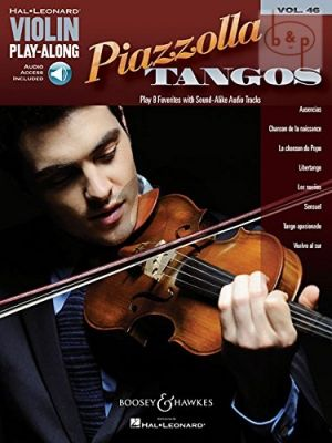 Piazzolla Tangos (Violin Play-Along Series Vol.46)