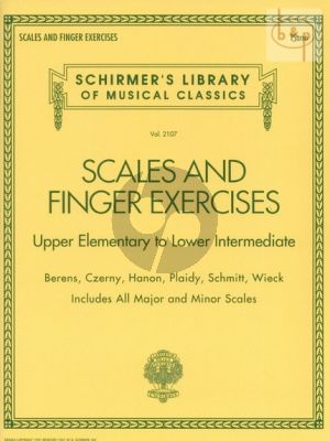 Scales and Finger Exercises for Piano