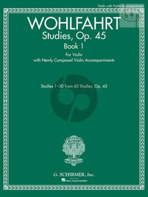 Studies Op.45 Vol.1 Violin  (No.1 - 30)