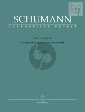 Liederkreis Op.39 Medium Voice