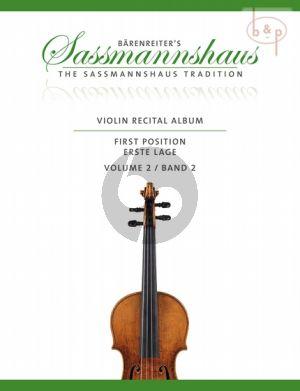 Violin Recital Album Vol.2 (Violin-Piano) (1st.Pos.)