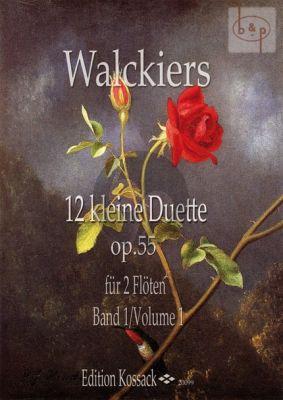 12 kleine Duette Op. 55 Vol. 1 (No. 1 - 3) 2 Flutes