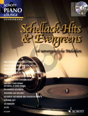 Schellack Hits & Evergreens (16 unvergessliche Melodien) (Piano)