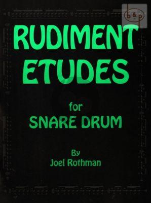 Rudiment Etudes for Snare Drum