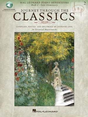 Journey through the Classics Vol.2 (Piano) (Book with Audio online)