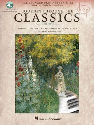 Journey through the Classics Vol.3 (Piano) (Book with Audio online)