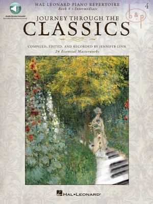 Journey through the Classics Vol.4 (Piano) (Book with Audio online)