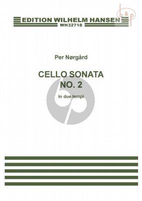 Sonata No.2 In due Tempi for Violoncello Solo