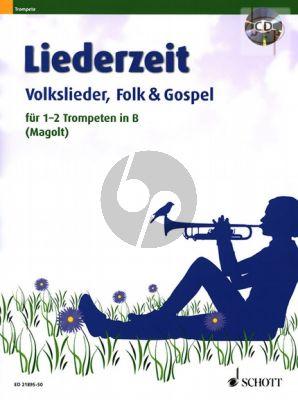 Liederzeit (Volkslieder-Folk & Gospel) (1 - 2 Trumpets[Bb])