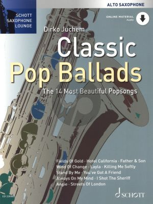 Classic Pop Ballads Alto Sax and Piano (The 14 most beautiful Popsongs)