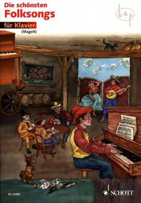 Die Schonsten Folksongs fur Klavier