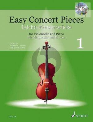 Easy Concert Pieces Vol.1 for Violoncello and Piano)