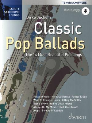 Classic Pop Ballads (The 14 Most Beautiful Popsongs) Tenor Sax.-Piano