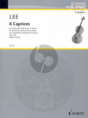 6 Caprices Op.109 for Violoncello
