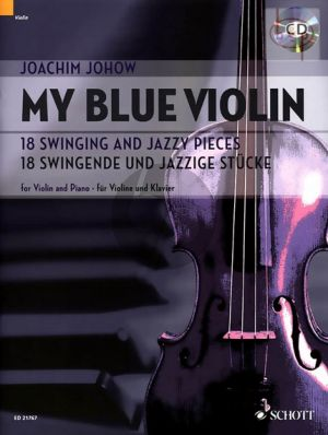 My Blue Violin (18 Swinging and Jazzy Pieces) BK-Audio Online