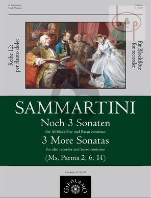 Noch 3 Sonaten (Ms.Parma No.2 - 6 - 14)