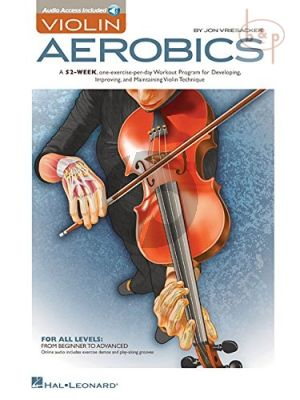 Vriesacker Violin Aerobics (Book with Audio online) (for all levels)