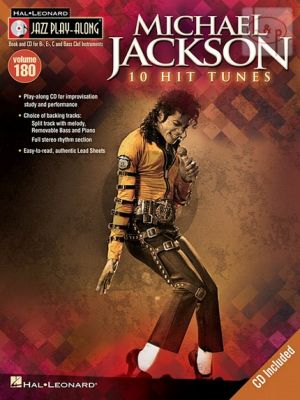 Jackson 10 Classic Songs (Jazz Play-Along Series Vol.176)