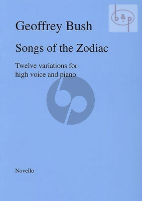 Songs of the Zodiac for High Voice and Piano