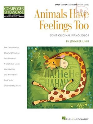 Animals have Feelings Too for Piano