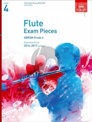 Flute Exam Pieces 2014 - 2017 Grade 4