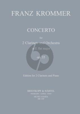 Concerto E-Flat major Op.35 (2 Clar.-Orch.)