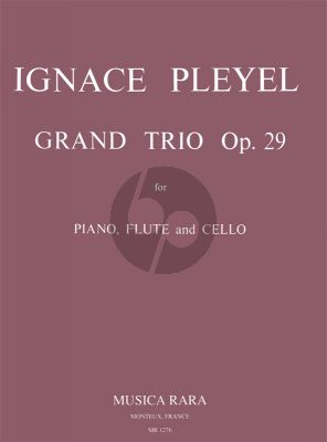 Pleyel Grand Trio D-Major Op.29 B.461 Flute-Violoncello-Piano (Meerwein)