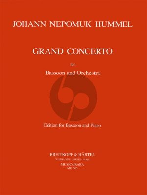 Hummel Grand Concerto F-major Bassoon-Orchestra (piano red.) (Ronald Tyree)