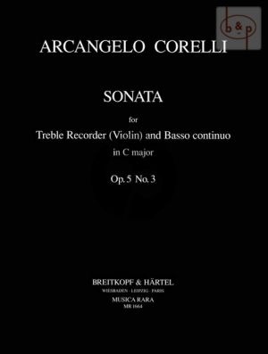 Sonata C-major Op.5 No.3