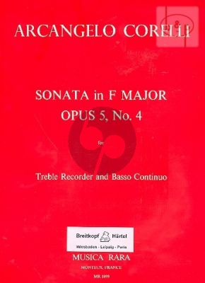 Sonata F-major Op.5 No.4