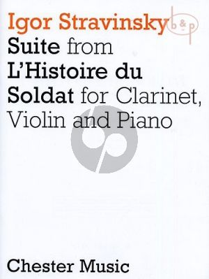 Suite from L'Histoire de Soldat Clarinet (A)-Violin and Piano